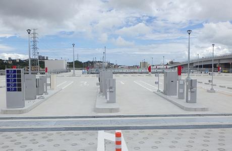 てだこ浦西駅パークアンドライド駐車場新築工事(電気設備、JV工事)